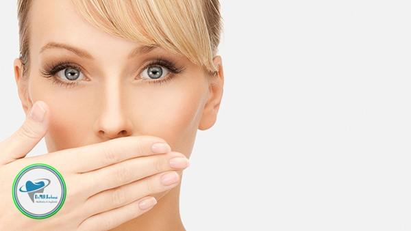 آیا لمینت دندان باعث بوی بد دهان می شود؟